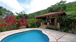 Affordable Home In Dominical With Pool And Large Open Air Pavillion
