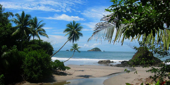 Manuel Antonio Tropical Beach
