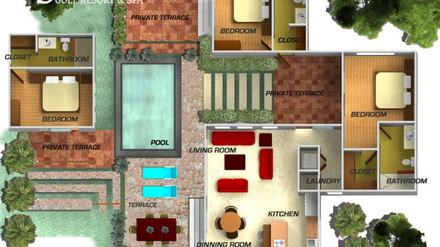 Plan 3d Villa ~ gascity for .