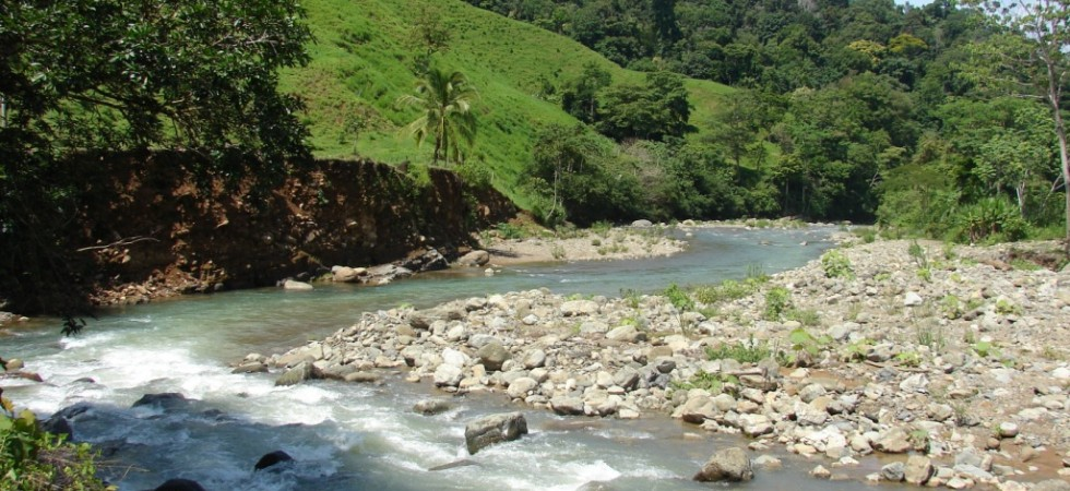 Sustainable 25 Acre Farm With River in San Juan de Dios