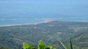 104 Acres of Ocean View Pasture Above Uvita