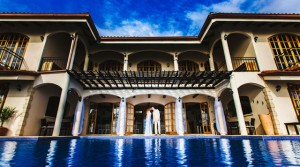 El Castillo Upscale Spanish Colonial Style Estate in Tropical Ojochal