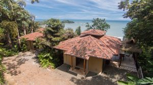 Luxury Two Bedroom Beach Villa Above Dominicalito Bay