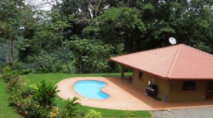 Private Villa On Over Two Acres in the Hills Above Dominical