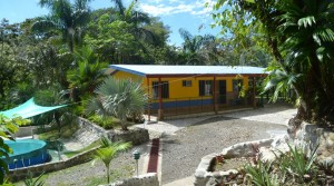 Affordable Tico Style Home In Manuel Antonio With Gardens