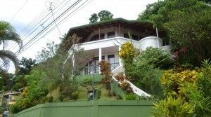 Split Level Ocean View Home By the Beach in Manuel Antonio