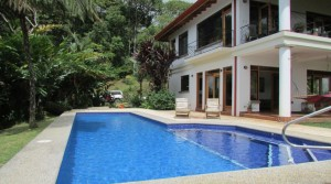 Casa Punta Mira River Valley View Home In the Dominical Mountains