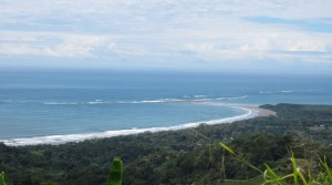 Large Ocean View Land Parcel With Creeks Near The Beaches Of Uvita