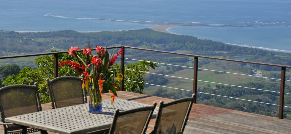 High Quality Home In Uvita With Spectacular Whale's Tail Ocean View