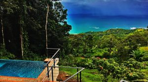 Modern Ocean View Home In Escaleras Area Of Dominical