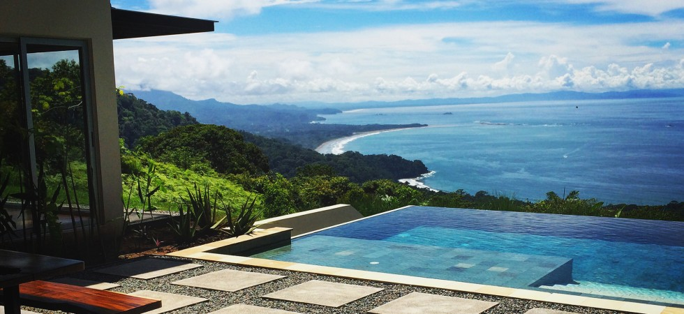 Modern Luxury Home With Incredible Ocean Views Above Dominical