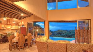 Ocean View Estate In Dominical With Strong Vacation Rental History