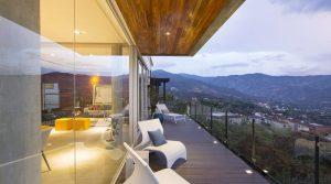 New Modern Home In Escazu With Beautiful San Jose City Light Views